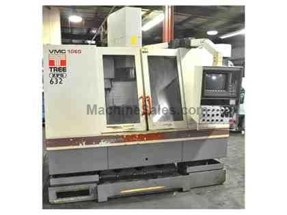 TREE VMC #1060 CNC VERT. MACHINING CENTER