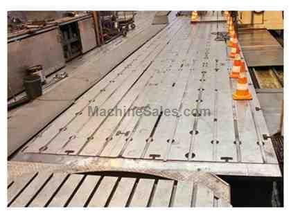 "(9) 68.89"" x 137.79"" x 13.77"" T-Slotted Floor Plates"