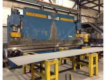 385 Ton x 20' Novastilmec SHP 350/60 4-Axis CNC Press Brake