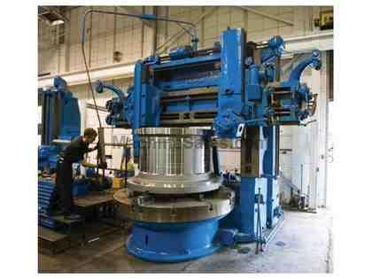 "84"" King Verical Boring Mill"