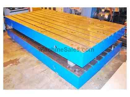 "(1) 86"" x 157"" x 11"" T-Slotted Floor Plate, Brand New"