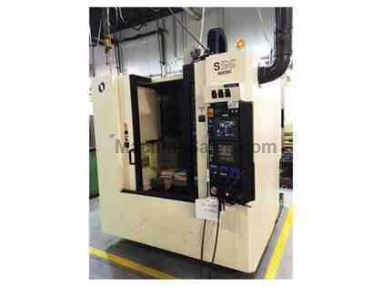 "35.4"" X Axis 19.7"" Y Axis Makino S56 VERTICAL MACHINING CENTER, Pro 3 CONTROL, 13,000 RPM, CHIP CONVEYOR"