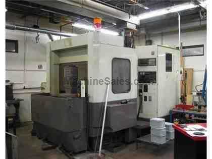 "27.95"" X Axis 23.62"" Y Axis Doosan DOOMAC-5H HORZ MACHINING CENTER, Full 4th Axis 20"" Pallet"