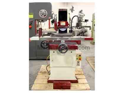 "6"" Width 18"" Length Chevalier FSG-618M SURFACE GRINDER, ROLLER BEARING TABLE, PMC, DRY"