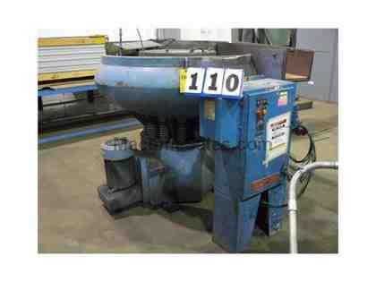 Almco OR-15CD VIBRATORY FINISHER, COB MEAL DRYER, 10 H.P., VARI-SPEED,