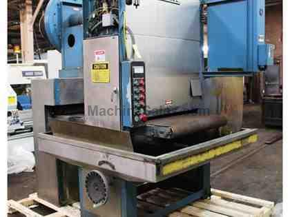 "37"" Width Ramco 37T60 BELT GRINDER, SS CONSTRUCTION, WET, COOLANT SYSTEM"