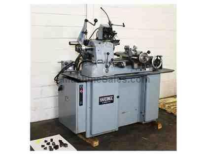 "11"" Swing Hardinge HC-AT PRECISION ENGINE LATHE, Auto-Thread,Vari-Speed,5C-Colllet,Tooling"