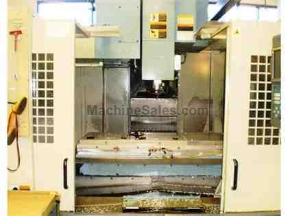 "60"" X Axis 30"" Y Axis OKK VM-7 VERTICAL MACHINING CENTER, Fanuc 16i-M, 14,000 RPM, 30 ATC"