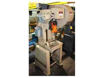 "15 Ton 2"" Stroke Rousselle 2E OBI PRESS, Extended Shut Height, Mechanical Clutch"