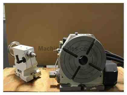 Troyke DL-10-B 4th AXIS CNC ROTARY TABLE
