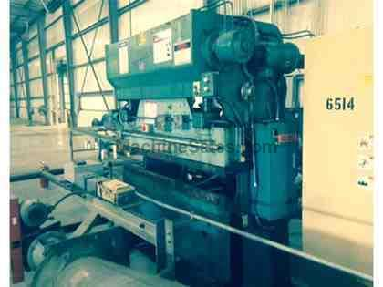 "40 Ton 72"" Bed Wysong H-4072 PRESS BRAKE, Hurco 5C CNC Single Axis Back Gauge"