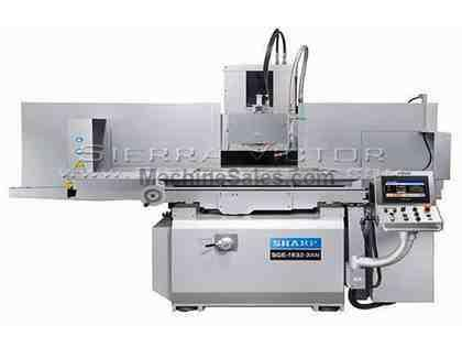 "16"" x 31"" SHARP® 2-Axis NC Surface Grinder"
