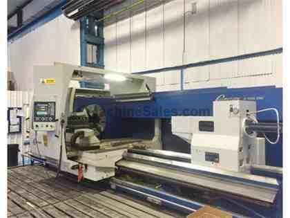 "47"" x 118"" Gurutzpe A-1600 CNC Flat Bed Lathe With 14.17"" Sp"