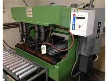 MULTI HEAD MODEL W4 WELDER 4 HEAD, W/LORS CONTROLS