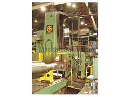 "5"" Giddings & Lewis Floor Type Horizontal Boring Mill"