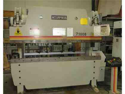 Accupress CNC Hydraulic Press Brake  Model 71008