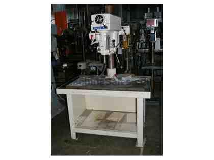 "20"" CLAUSING VARIABLE SPEED SINGLE SPINDLE DRILL PRESS"
