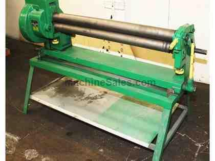 slip roll machine used