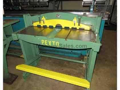 Used Pexto Foot Shear   Model 137