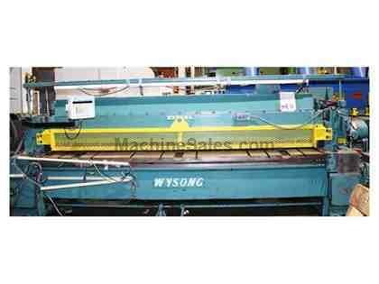 Used Wysong Mechanical Power Shear   Model 1225