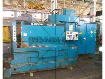 "Blanchard #22AD-42, 42"" Vertical Spindle Rotary Surface Grinder W/ A/B"