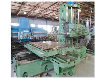 "4"" Giddings & Lewis 340-T Table Type Horizontal Boring Mill"
