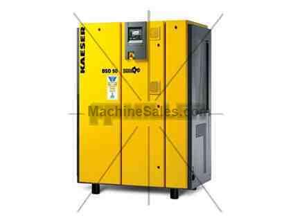 New Kaeser 50 Hp BSD 50 Rotary Screw air compressor