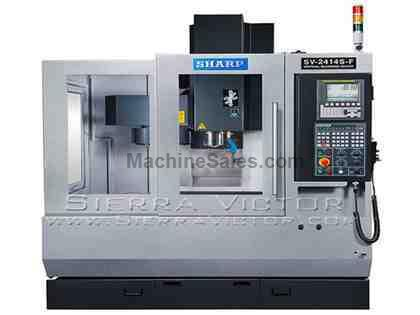 "24"" x 14"" SHARP® Box Way Vertical Machining Centers with Sie"