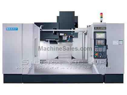 "51"" x 28"" SHARP® Box Way Vertical Machining Centers"