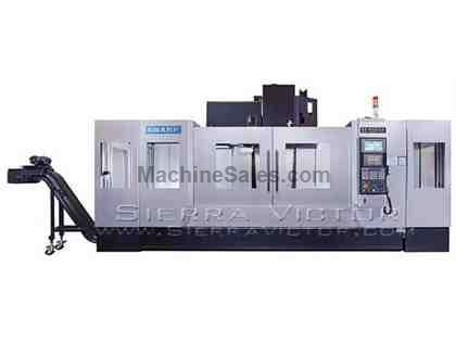 "63"" x 32"" SHARP® Box Way Vertical Machining Centers"