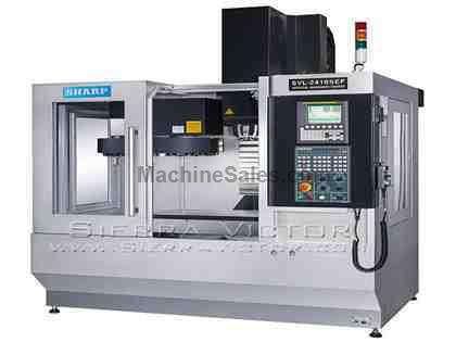 "24"" x 16"" SHARP® Linear Way Vertical Machining Centers"