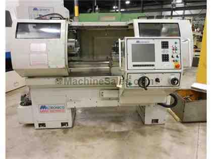 "2003 MILLTRONICS MODEL ML15 CNC/MANUAL COMBINATION LATHE, 15"" x 34&quo"