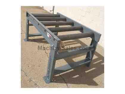 "5' and 10' WB Type II Idler Conveyors, 32"" between frames, 3.5"" dia"