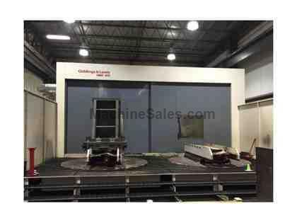 GIDDINGS & LEWIS HMC-410 CNC HORIZONTAL MACHINING CENTER