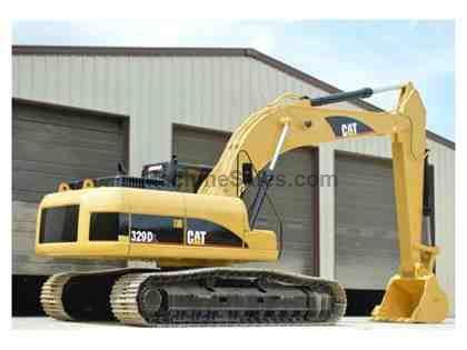 2010 CATERPILLAR 329DL EXCAVATOR