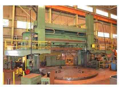 "283.46"" Schiess 4-Axis CNC Vertical Boring Mill"
