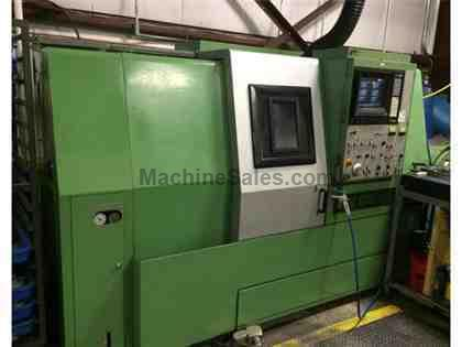 "Mori Seiki ZL-15MC, (2) Turrets, Live Tooling, 6"" Chuck, Under Power,"