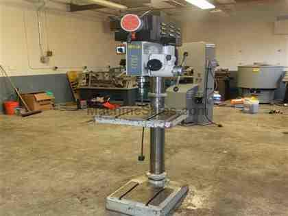 "20"" Vectrax Variable Speed Drill Press with Power Down Feed"
