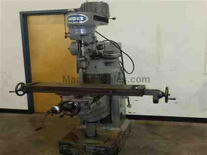 "9"" x 46"" Wells Index Vertical Milling Machine"