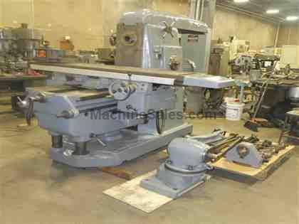 "18"" x 79"" Tos Horizontal Mill with Vertical Head"