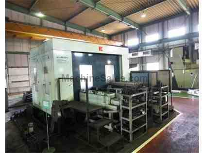 "4.33"" Kuraki KBM-11X-P CNC Table Type Horizontal Boring Mill"
