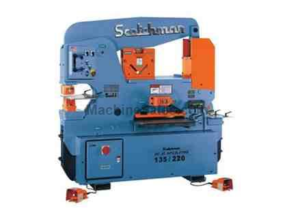 "135 Ton 12"" Throat Scotchman DO 135/220-24M *Made in the USA* NEW IRONWORKER, dual operator; 5 stations; 10 hp 3 ph 230/460v"