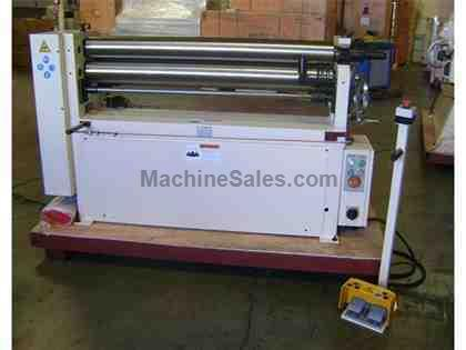"48"" WIDTH 0.1875"" THICKNESS GMC PBR-04316 *Taiwan Made* NEW BENDING ROLL, 4' x 3/16"" Heavy Duty Bending Roll; 3 hp"