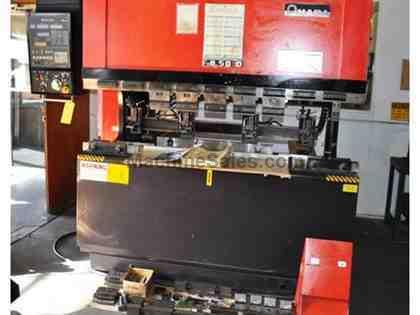 "55 Ton 78.7"" Bed Amada FAB-50D PRESS BRAKE, NC9-EXII 2-Axis CNC Back Gauge"