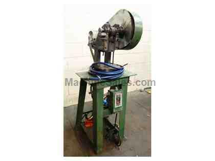 "2 Ton 0.75"" Stroke Alva Allen B2 OBI PRESS, Mechanical Clutch"