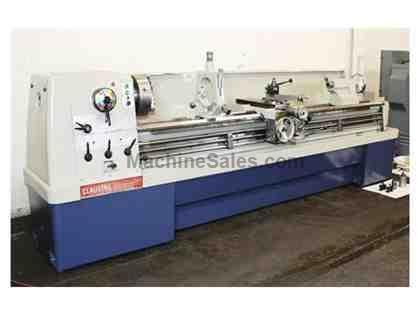 "17"" Swing 100"" Centers Clausing-Colchester 8056 ENGINE LATHE, Inch/Metric, 3-Jaw, Aloris, Steady, 10 HP"