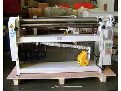"50"" WIDTH 0.0747"" THICKNESS GMC PSR-5014 NEW BENDING ROLL, 50"" x 14ga. 1.5 hp 220v Power Slip Roll"