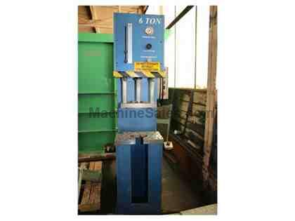 "6 Ton 12"" Stroke Pressmaster HYDRAULIC PRESS"