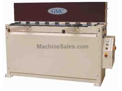"0.0747"" Cap. 120"" Width GMC HS-1014MD *Taiwan Made* NEW SHEAR, 10' x 14ga.; hydraulic; 26"" manual BG; 5.5 hp"