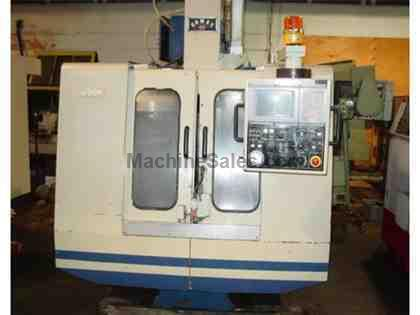 "20"" X Axis 16"" Y Axis Mighty VMC-500P VERTICAL MACHINING CENTER, Mitsubishi Control 6,000RPM,CAT 40 16 ATC"